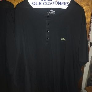 Lacoste button T shirt
